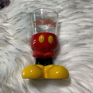 Standing Mickey Glass
